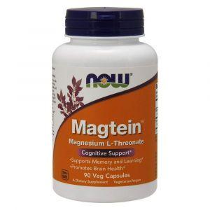 Витамины для памяти, Magtein, Now Foods, 90 капс