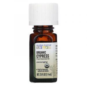 Эфирное масло кипариса (Cypress), Aura Cacia, 7,4 мл (Default)