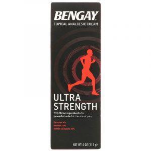 Обезболивающий крем, Topical Analgesic Cream, Ultra Strength, Bengay, 113 г (Default)