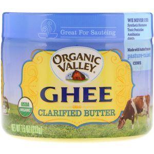 Топленое масло гхи, Ghee Clarified Butter, Organic Valley, органик, 212 г (Default)