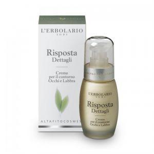 Крем для кожи вокруг глаз и губ интенсивный, Crema Risposta Dettagli, L'Erbolario, 30 мл