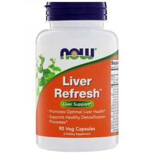 Поддержка печени, Liver Refresh, Now Foods, 90 капсул (Default)