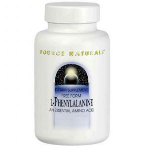 Фенилаланин, Source Naturals, 500 мг, 100 таблеток
