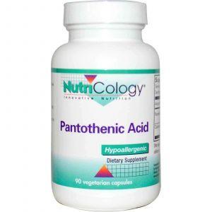 Пантотеновая кислота, Nutricology, 90 капсу
