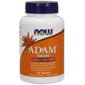 Витаминный комплекс Адам (Adam, Men's Multi), Now Foods, 60 таблеток