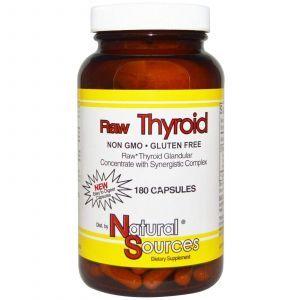 Здоровье щитовидной железы, Natural Sources, 180 к