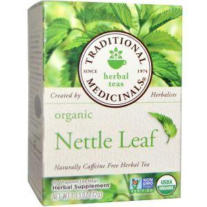 Чай из листьев крапивы, Traditional Medicinals, 16 пак.