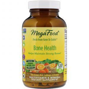 Витамины для костей, Multi for Healthy Bone, MegaFood, 120 таблеток (Default)
