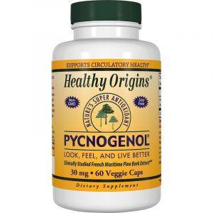 Пикногенол, Pycnogenol, Healthy Origins, 30 мг, 60 капсул (Default)