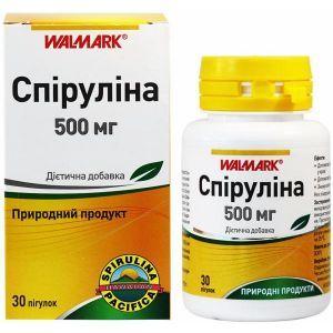 Спирулина, Walmark, 500 мг, 30 таблеток