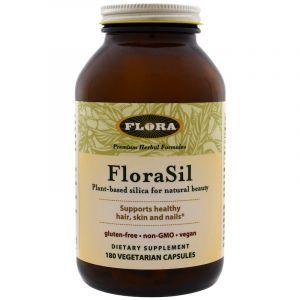 Кремний для женщин, FloraSil, Flora, 180 капсул (Default)
