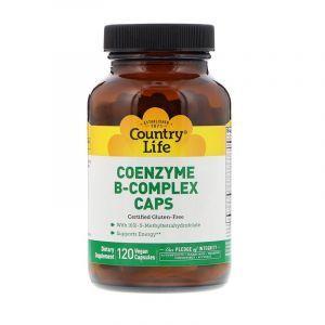 Коэнзим B-комплекс, Coenzyme B-Complex, Country Life,120 капсул (Default)