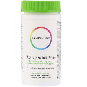 Мультивитамины 50+, Multivitamin, Rainbow Light, 90 таблеток (Default)