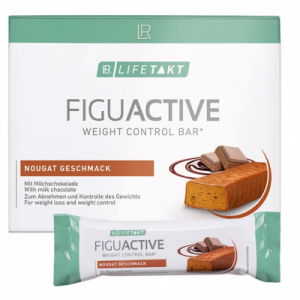 FiguActive протеиновый батончик для контроля веса, LR Lifetakt, со вкусом нуги, набор из 6 шт