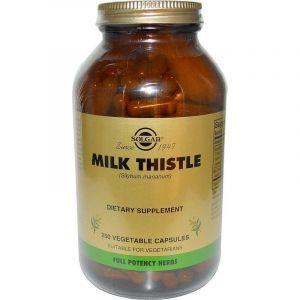 Расторопша, Milk Thistle, Solgar, 250 капсул (Default)