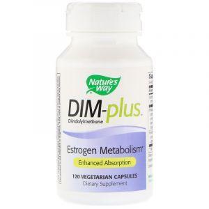 Метаболизм эстрогенов, DIM-plus, Estrogen Metabolism, Nature's Way, 120 капсул (Default)