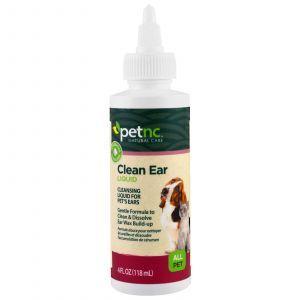Жидкость для чистки ушей животных, Pet Natural Care, Clean Ear Liquid, 21st Century, 118 мл