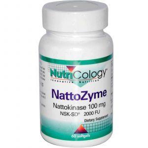 НаттоЗим, Nutricology, 180 гелевых капсул