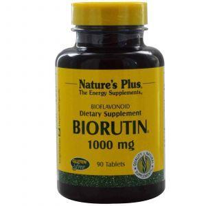 Рутин, Nature's Plus,1000 мг, 90 таблеток