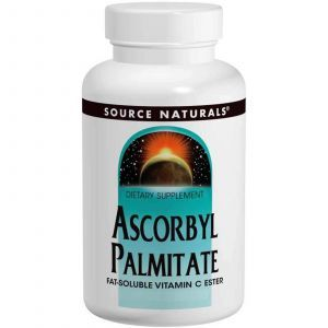 Аскорбил пальмитат, Source Naturals, 500 мг, 90 капсул