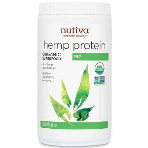 Конопляный протеин, Nutiva, 454 гр