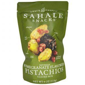 Фисташки, глазированная смесь, Pistachios, Sahale Snacks, 113 г