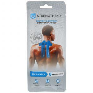 Прочные кинезиологические ленты для спины и шеи, Kinesiology Tape, 6 шт.