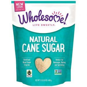 Wholesome Sweeteners, Inc., Natural Cane Sugar, 1.5 lbs (24 oz.) - 680 g