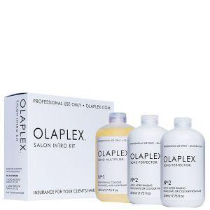 Набор для защиты волос при окрашивании, Salon Intro Kit, Olaplex, 3 шт по 525 мл