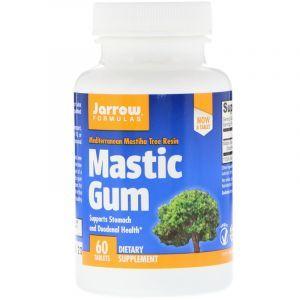 Смола мастикового дерева, Mastic Gum, Jarrow Formulas, 500 мг, 60 капсул (Default)