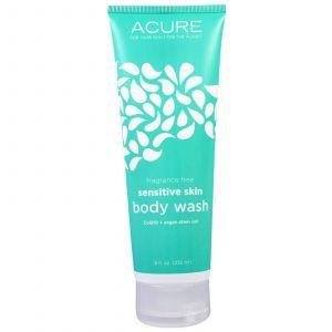 Гель для душа, Body Wash, Acure Organics, для чувствительной кожи, без запаха, 235