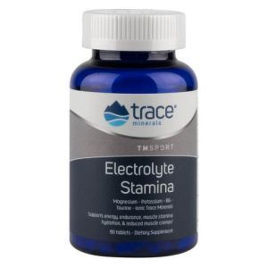 Электролиты для выносливости, Electrolyte Stamina, Trace Minerals Research,  90 таблеток