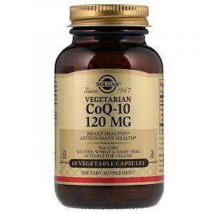 Коэнзим Q10 вегетарианский (Vegetarian CoQ-10), Solgar, 120 мг, 60 капсул (Default)
