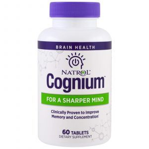 Когниум, Cognium, Natrol, 60 таблеток