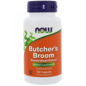 Иглица колючая, Butcher's Broom, Now Foods, 100 капсул (Default)