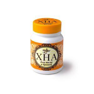 Хна для росписи тела в порошке коричневая, Henna for body painting in powder brown, Mayur, 50 г