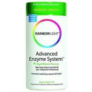 Поддержка пищеварения, Advanced Enzyme System, Rainbow Light, 90 капсул