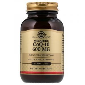 Коэнзим Q10 (Coenzyme Q-10), Solgar, 600 мг, 30 капсул (Default)