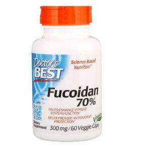 Фукоидан 70%, Fucoidan, Doctor's Best, 60 капсул (Default)