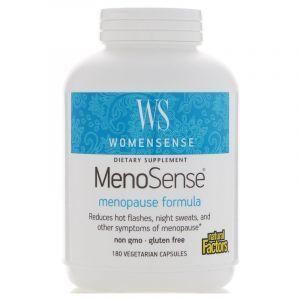 Витамины при менопаузе, Menopause Formula, Natural Factors, 180 капсул (Default)