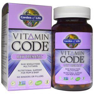 Витамины для беременных, Raw Prenatal, Garden of Life, 90 капс. (Default)