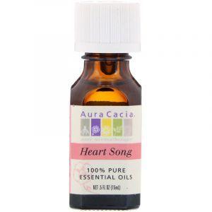 Эфирное масло «песнь сердца», Essential Oils, Aura Cacia, 15 мл (Default)