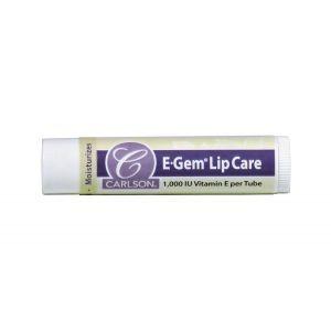 Бальзамы для губ, Lip Care, Carlson Labs, с витамином Е, 1000 МЕ, 12 тюбиков
