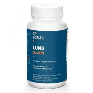 Здоровье легких, Lung Health, Dr Tobias, 60 вегетарианских капсул