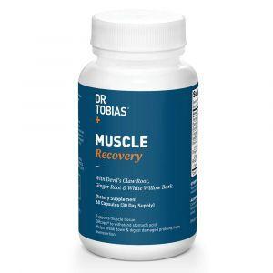 Формула для восстановления мышц, Muscle Recovery, Dr Tobias,  60 вегетарианских капсул