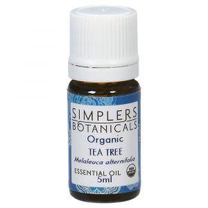 Эфирное масло  чайного дерева, Organic Tea Tree, Simplers Botanicals, 5 мл