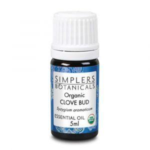 Эфирное масло гвоздики, Organic Clove Bud, Simplers Botanicals, 5 мл