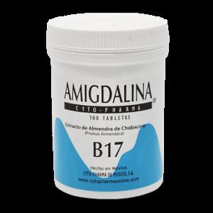 Витамин в17, Amygdalin, Cyto Pharma, 500 мг, 100 таблеток (Default)