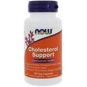 Нормальный холестерин (Cholesterol Support), Now Foods, 90 капсул (Default)