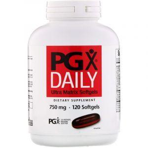 Полигликомплекс (PGX ), Natural Factors, ультра, 750 мг, 120 капсул (Default)